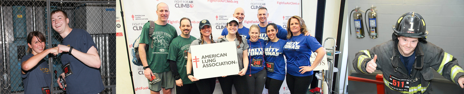Fight For Air Climb. Step Up to the Challenge!
