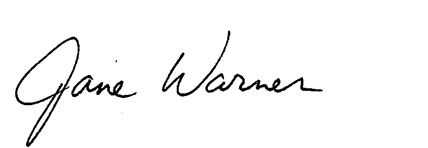 Jane Warner's signature jpeg