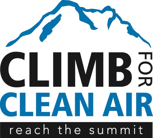 Climb For Clean Air/Reach The Summit Logo 2012