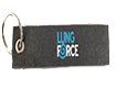 LUNG FORCE Keychain