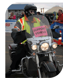 Gold Wing Volunteer Rider