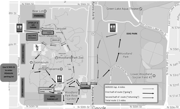 LF Walk-Seattle 2017 Route Map
