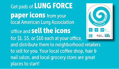 LUNG FORCE Pin Up News