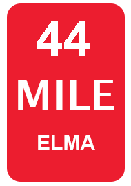 RTB WA - 44 Mile Start Sign