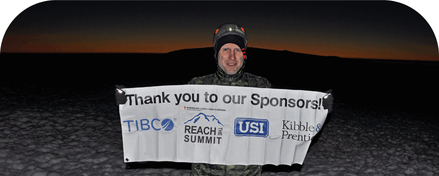 RTS Climber with Sponsor Banner