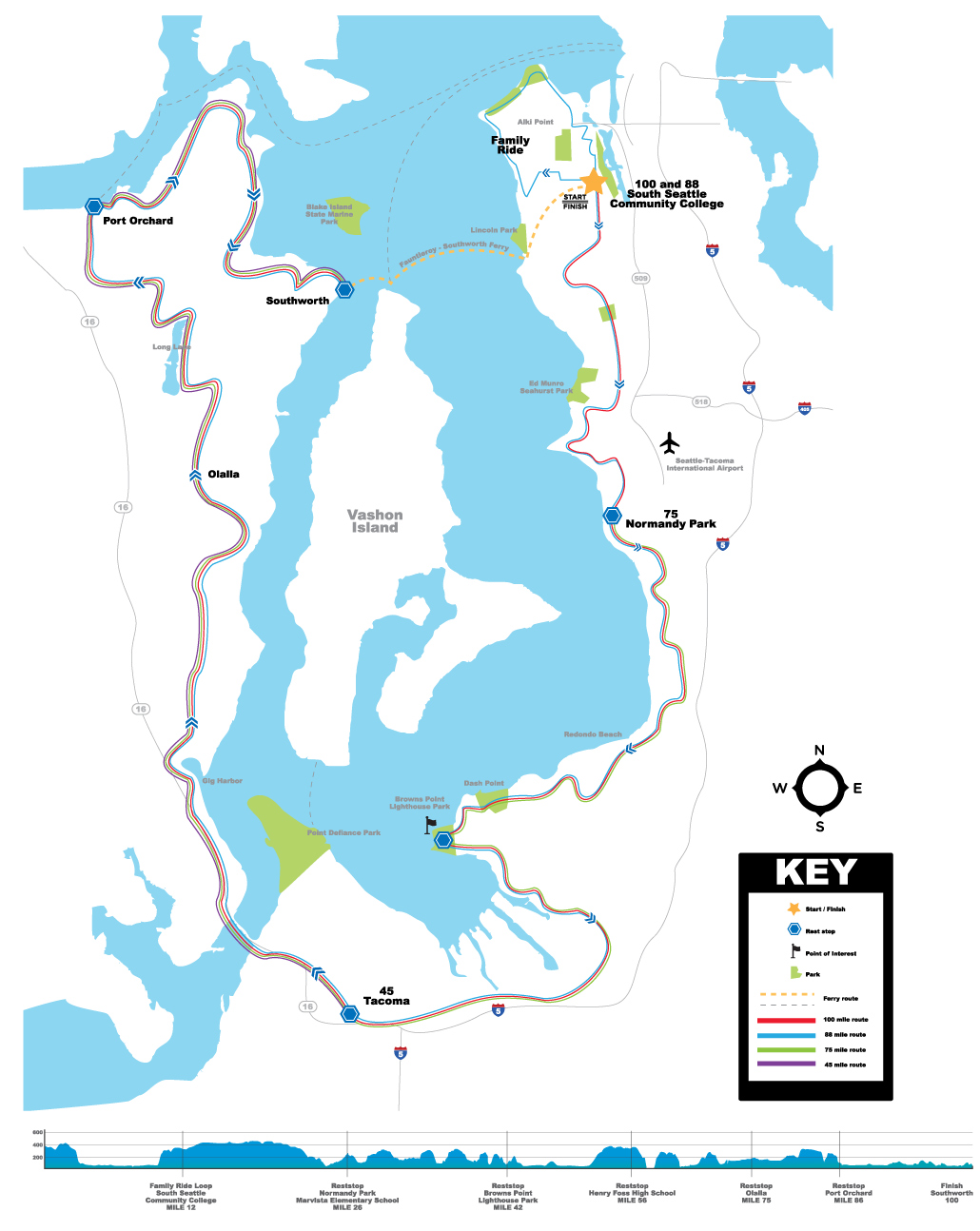 New Puget Sound bike ride launches in 2012 Biking Bis