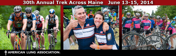 Trek Across Maine 30th Anniversary