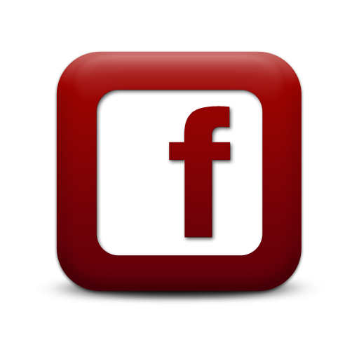 Facebook logo Red White 2