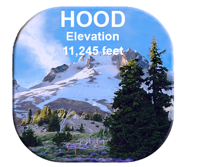 Mt Hood Picture Button