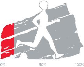 17 percent of goal achieved.