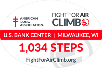 Fight for Air Climb Decal