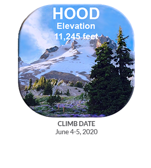 CFCA Mt. Hood Button with 2020 dates