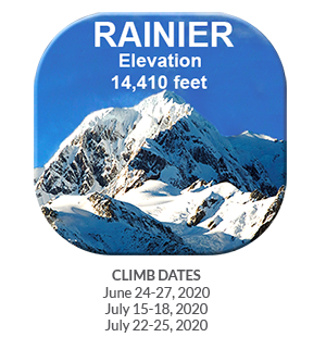 CFCA Mt Rainier Button with 2020 dates