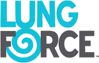 LUNG FORCE logo