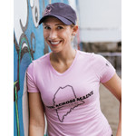 Click here for more information about Maine Trek T-shirt  Ladies  Lilac