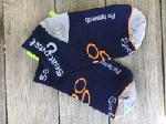 Click here for more information about Cycle the Seacoast Socks - Navy