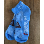 Click here for more information about Cycle the Seacoast Socks - Light Blue