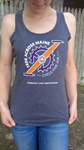 Click here for more information about Maine Trek Racerback Tank - Gray