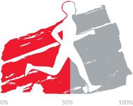 53 percent of goal achieved.